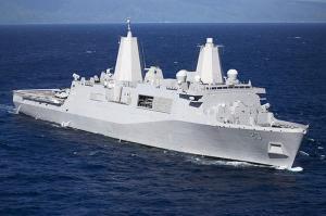 USS Anchorage Il peut transporter jusqu'à 4 hélicoptères Sea Knight. Ce navire  lanceur  de missiles  anti-missile en est une énorme protection contre tout objet entrant dans l'espace aérien ou les frontières  maritimes.