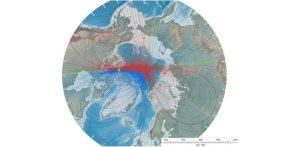 Le champs magnétique de la Terre s'inverse actuellement.