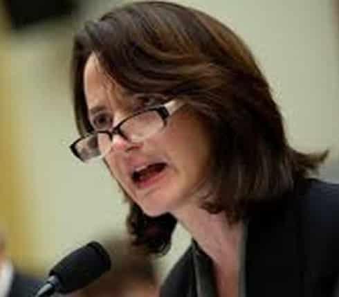 Former CIA Deputy Director Avril Haines, now on candidate Joseph Biden's intelligence team
