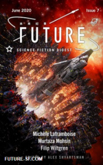 Couverture de Future SF - publication de la Cousin Entropy