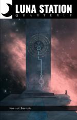 Couverture de Luna station Quarterly, dans laquelle se trouve ma publication