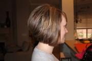 short & stacked haircut fun