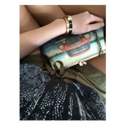Vintage-like cross bag