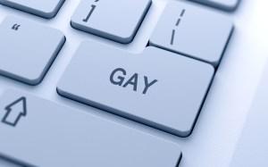Gay button