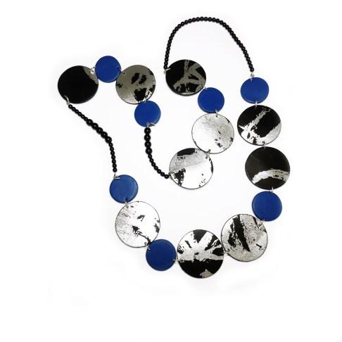 Collier R1 bleu