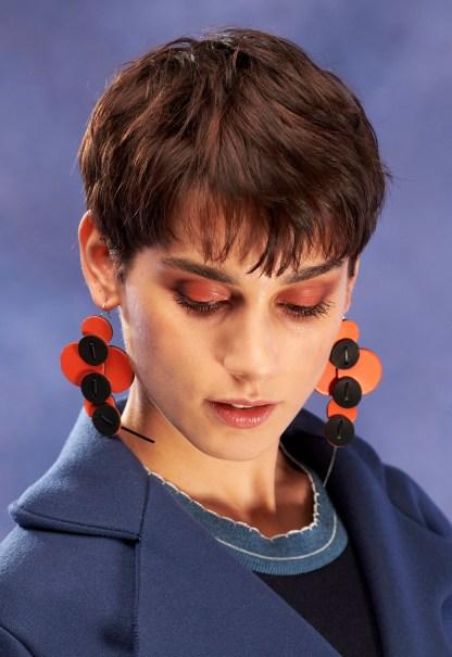 boucles oreille en cuir