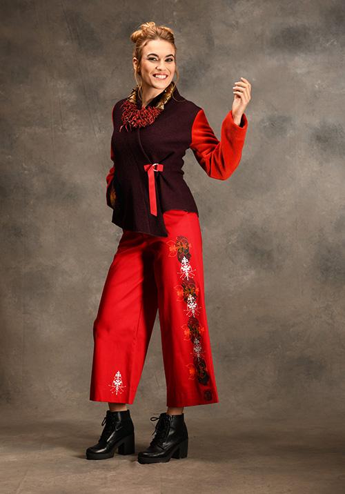 pantalon-rouge-veste-prune-vetements-mode-michele-forest