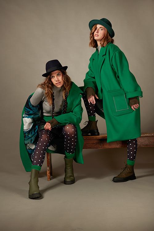 manteau-vert-col-tailleur-oversize-laine-hiver-2021-michele-forest-design