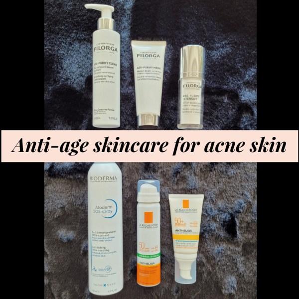 Anti-Age Skincare for Acne Skin