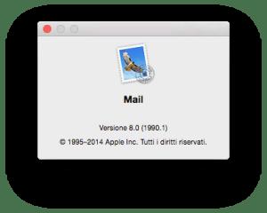 Mail versione 8