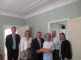 Lunch at the Residence of the Consul General in Melbourne, Australia (2013)
