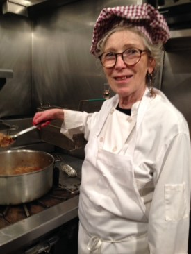 Cooking at Firefly Restaurant (2014)