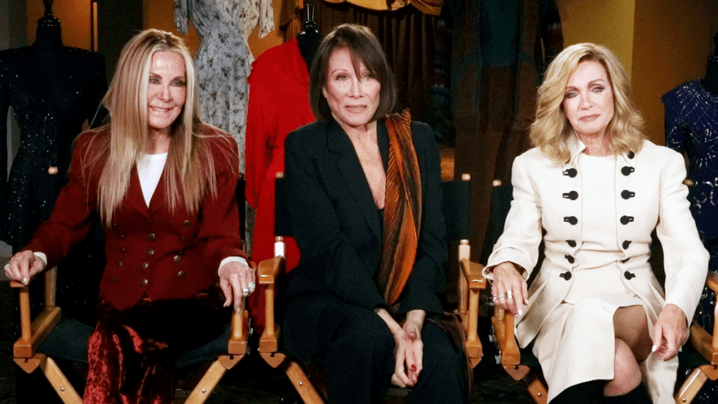 Joan Van Ark, Michele Lee, and Donna Mills at The Hollywood Museum