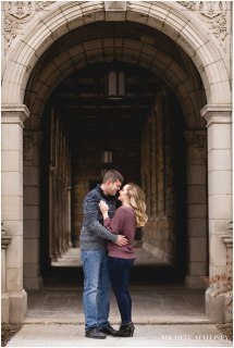 Chelsea & Nick Ann Arbor Engagement