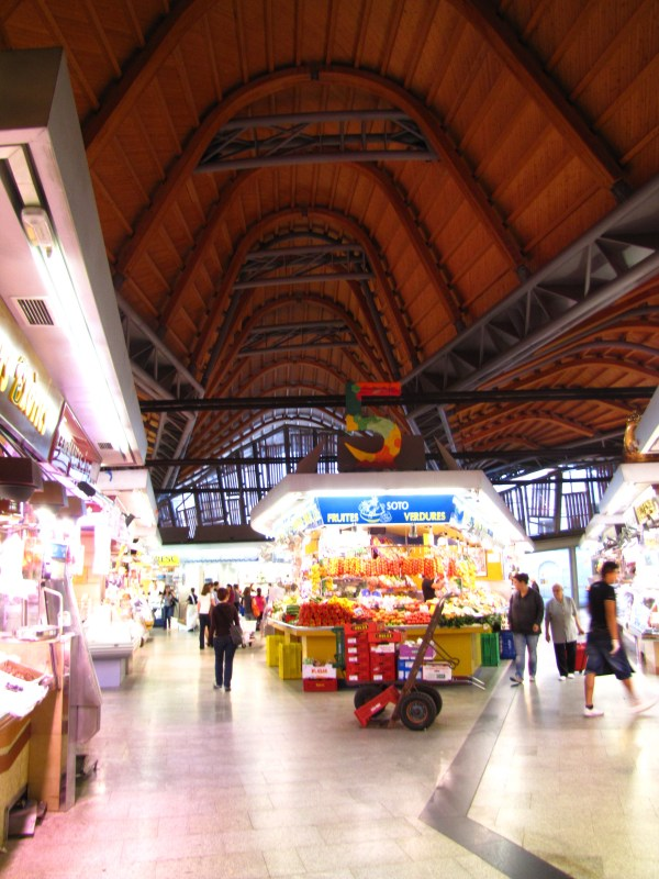 Santa Catarina Market Barcelona Spain Make