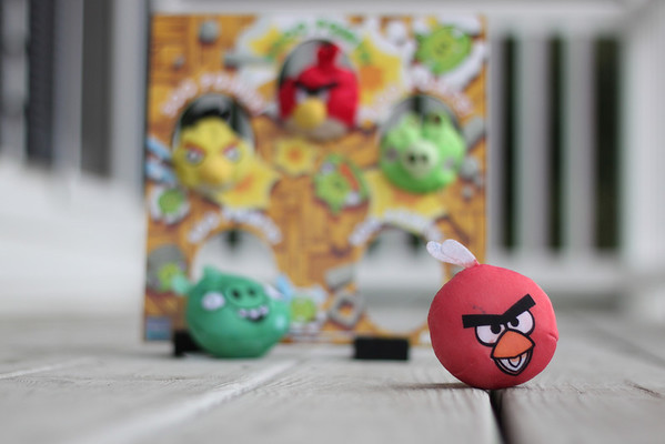 Day 209  Angry Birds Bean Bag Toss  My 5 year old son was so proud to have colored the red bird all by himself.  Manual 50mm  ISO200  f/2  1/640sec