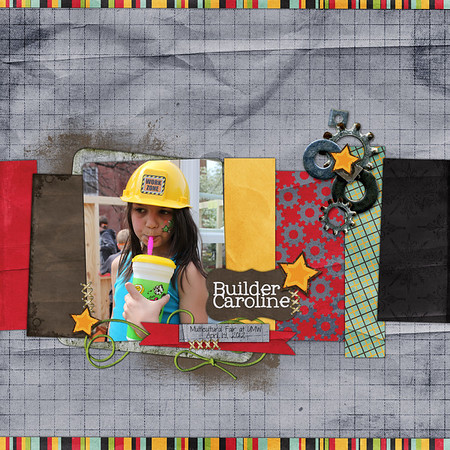 Week 15Road Maps Volume 6 template and Wild Thing kit by Down This Road Designs