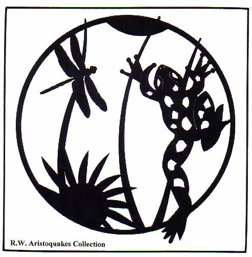 RWA Picture Collection CCXX Frog Silhouettes