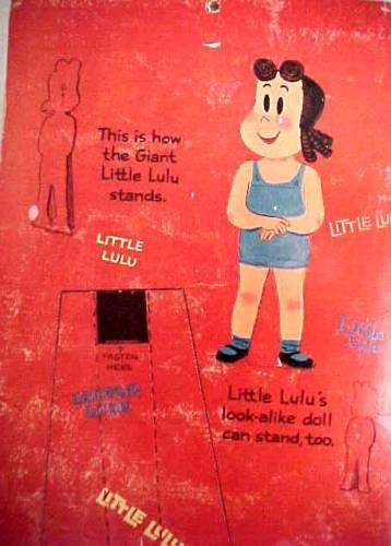 Little Lulu Paper Dolls