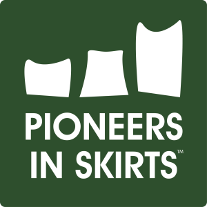 Pioneers in Skirts_logo
