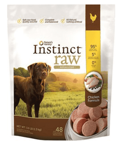 Raw inatures instinct michelines pups