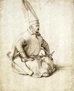 A Janissary by Gentile Bellini, 1479-1480 (British Museum)