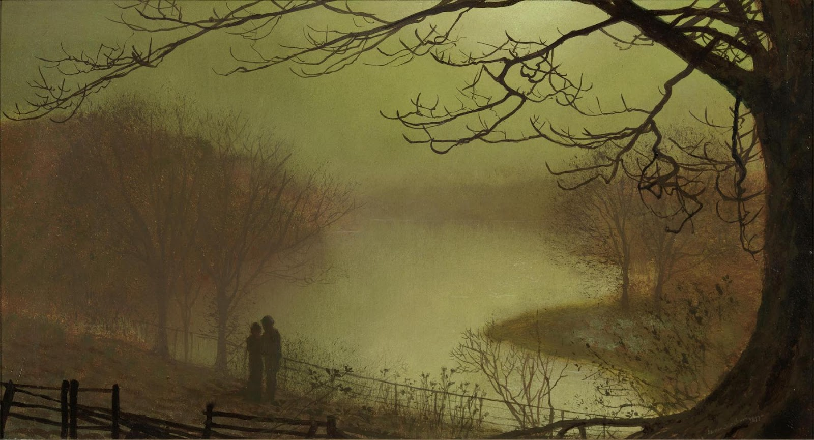 John Atkinson Grimshaw  Protect me from what I want