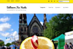 Screenshot of Baltimorefunhacks.com