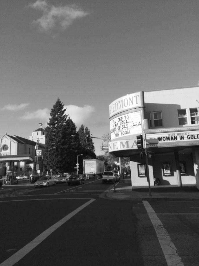 Piedmont Theater on Piedmont Avenue, Oakland, CA