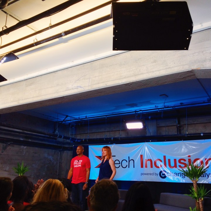 Tech Inclusion Conference, Day 1. Galvanize, San Francisco. WONDERFUL day.