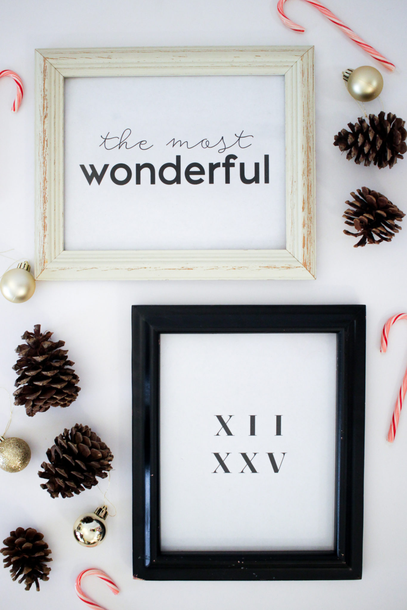 Minimalist Christmas Printables Free Holiday Prints Decor