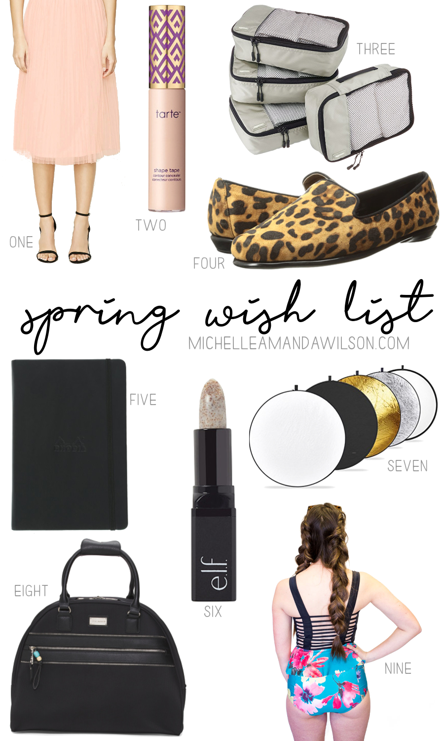 Spring 2017 Wish List on Michelle Amanda Wilson
