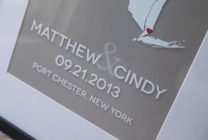 NY wedding graphic detail