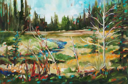 Finding Diamonds in the willows-SOLD