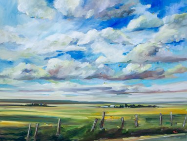 A Familiar View-SOLD