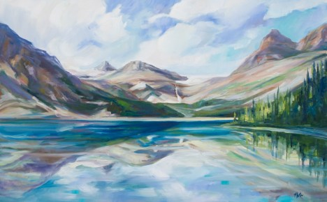 Reflections Bow Lake-SOLD