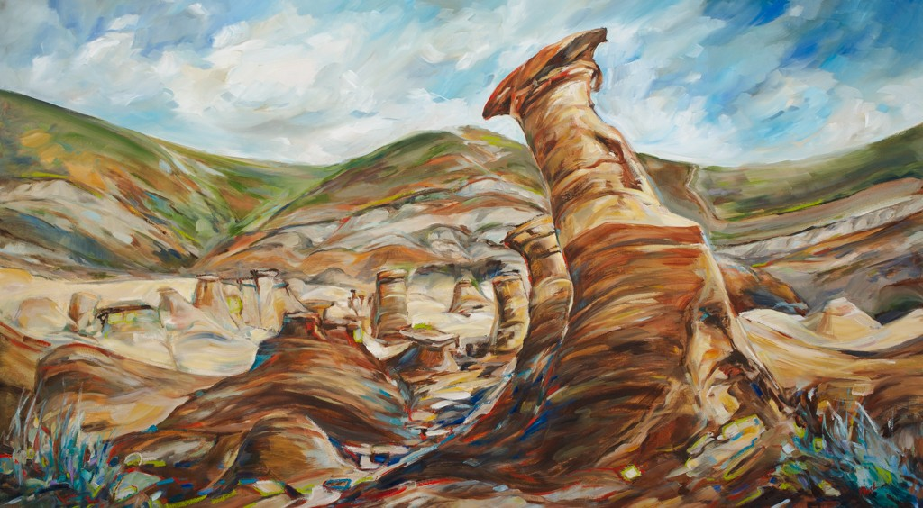 Alberta East to West Series-Badlands - SOLD