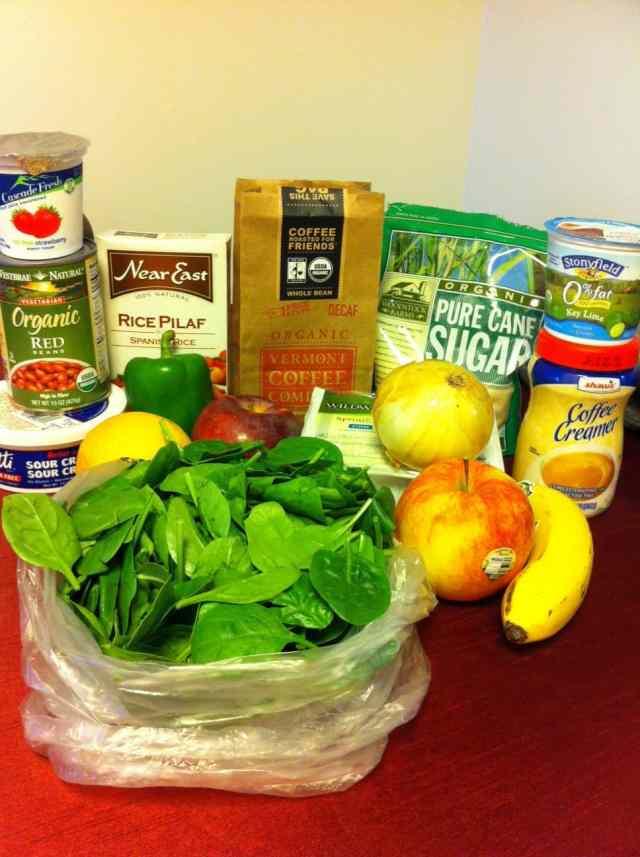 Food Stamp Challenge: Planning