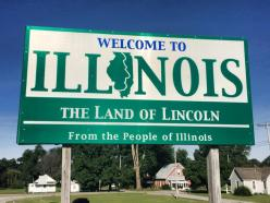 Illinois. First time zone change!