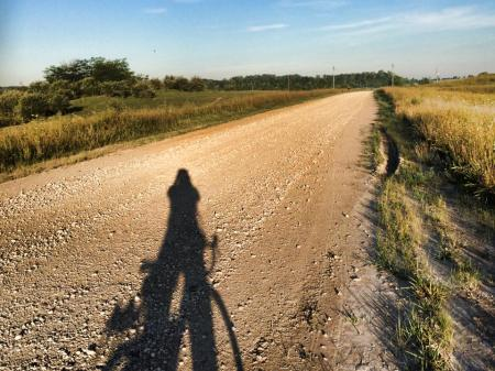 Dirt and gravel roads