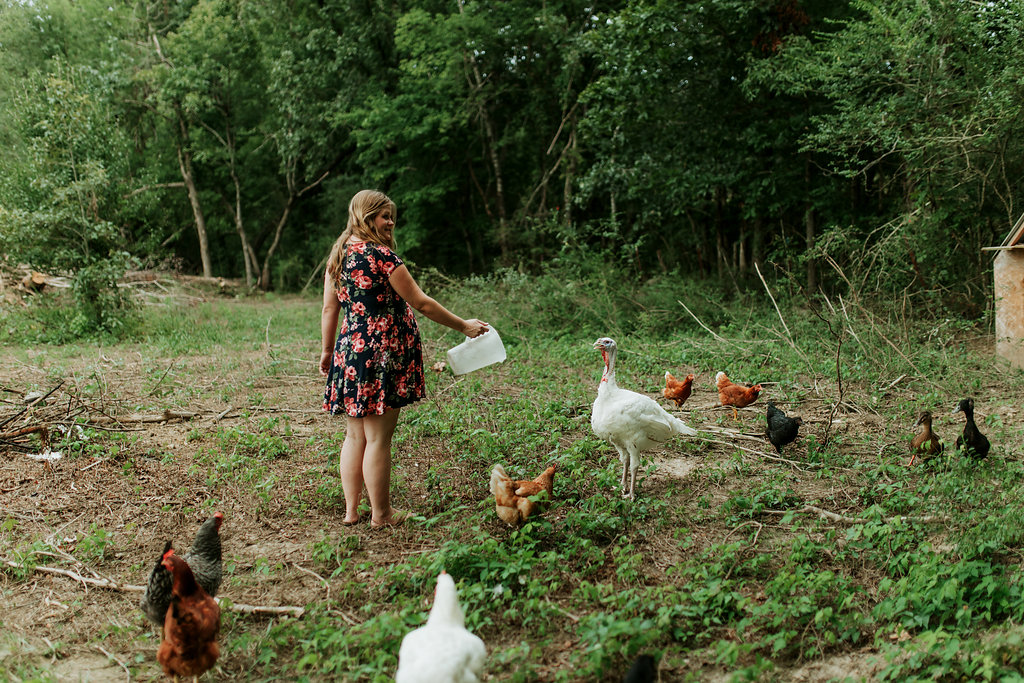 Tennessee-City-Turkey-Chickens-Farm-Country-Living-Maternity-Couples-Alpha-Gal-1