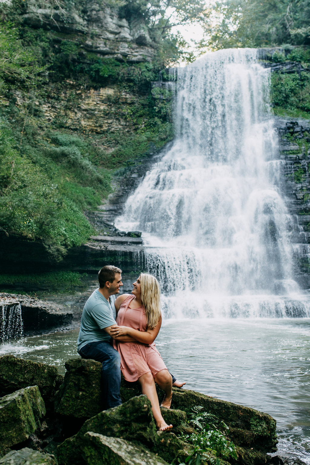 Waterfall-Engagement-Nashville-Tennessee-Evins-Mill-Carmac-Falls-127