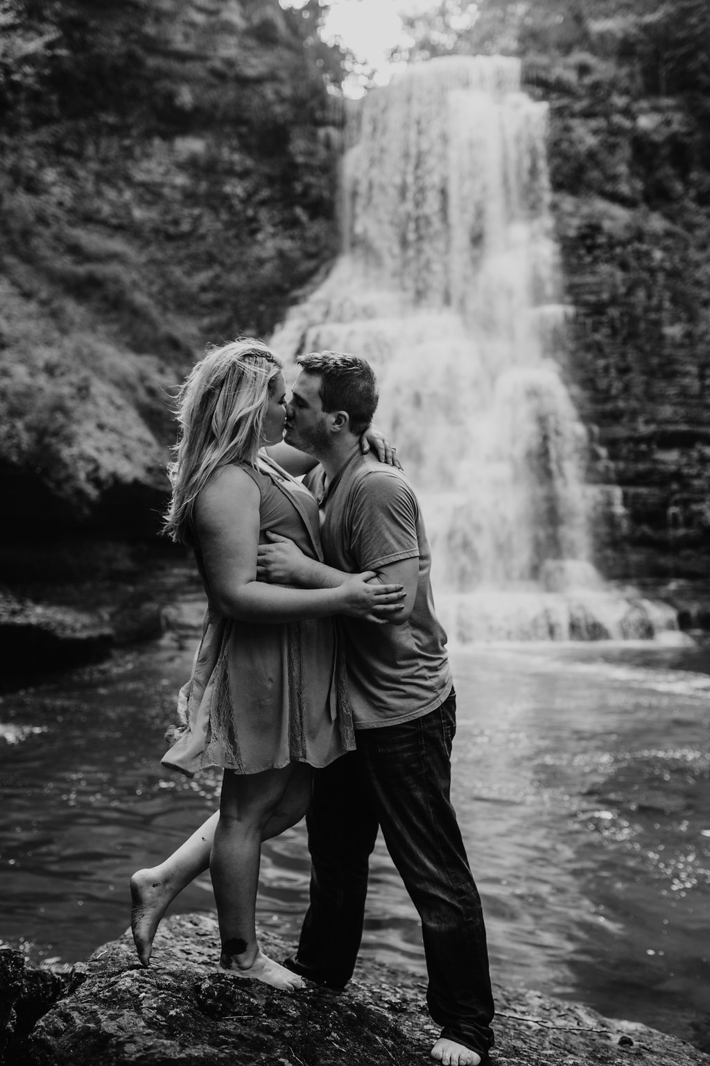 Waterfall-Engagement-Nashville-Tennessee-Evins-Mill-Carmac-Falls-83