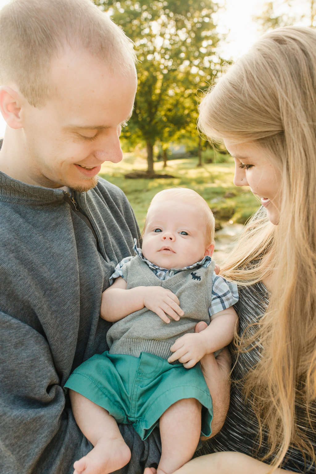 Thompson's-Station-Tennessee-Family-Photos-Baby-3-months-Isaac-Fitzmorris-16