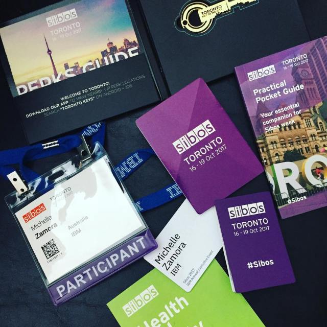 Sibos kit  the official agenda kicks off today