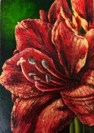 Spice Textures of Life Acrylic Painting by Michelle East