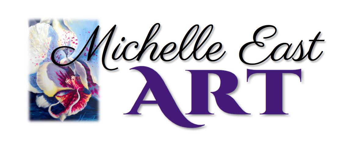 Michelle East Art Logo, Art Events and Art Exhibits artwork Michelle East