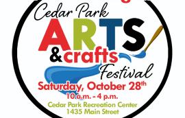 Cedar Park Art Crafts Festival Logo 2017