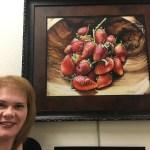 swaziland strawberries Art hop exhibit