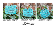 Welcome Ceramic Gift Plant Marker